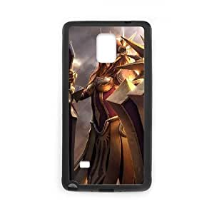 Samsung Galaxy Note 4 Cell Phone Case Black Leona League of Legends3 Iineg