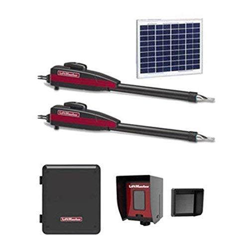Dual 12VDC Solar Residential Linear Actuator - Free Liftmaster 828LM Internet Gateway & Free RNT-230SADK Weatherproof Keypad Prox Reader 1000+ Users ()