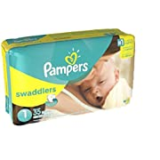 Pampers Swaddlers Diapers Size 1 35 Ct (Jumbo Pack)