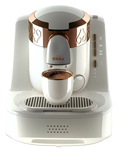 Arzum Okka Ok001 Automatic Turkish / Greek Coffee Machine, 220 - 240 V, Eu Plug White