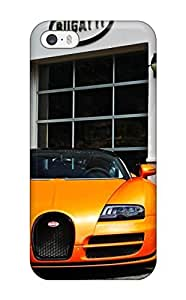 CaseyKBrown Case Cover For Iphone 5/5s - Retailer Packaging Bugatti Veyron Vitesse Protective Case