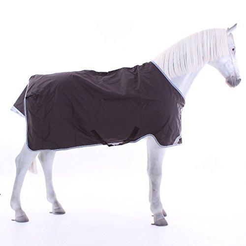 Horseware Amigo Bravo 12 Turnout lite 0g Net Lined - Excalibur/Silver