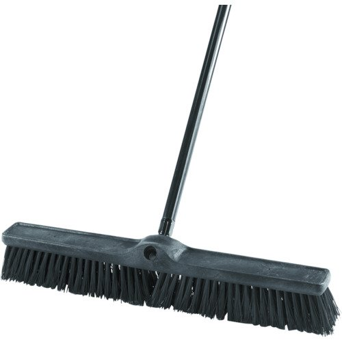 Rubbermaid Commercial Executive Series Rough-Surface Heavy-Duty Sweep, Plastic Broom Head, 24'', 1861212 by Rubbermaid Commercial Products (Image #3)