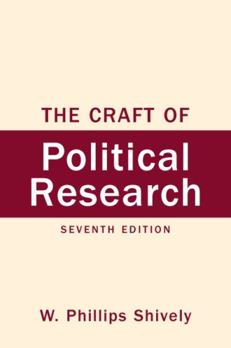 Craft of Political Research, The (7th Edition)