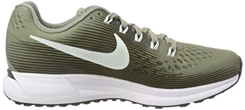 WMNS Stucco Air Pegasus Laufschuhe Sequoi Grau NIKE 007 Barely Dark 34 Grey Damen Zoom 5EISIqzw