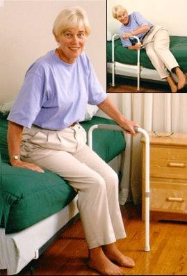 Rail Healthcraft Smart (HealthCraft Products SR-S Smart-Rail- The bed rail that swings open by Healthcraft)