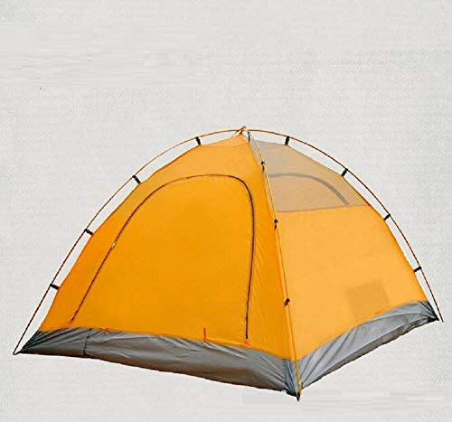 GCC Guo Outdoor Products Outdoor Outdoor Outdoor Adatto per 3-4 persone Usa tende a palo in alluminio, tende da campeggio per casa, ombra impermeabile in tessuto Oxford, tende portatili,3-4 persone,arancia | Eccellente valore  | Di Progettazione Professionale  b1f48a
