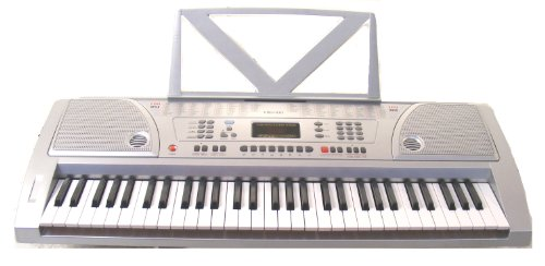 Huntington KB61-100 61-Key Portable Electronic Keyboard,  (This Is Halloween Notes For Keyboard)