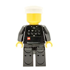LEGO Despertador con luz Infantil con figurita de policía City 9002274 4