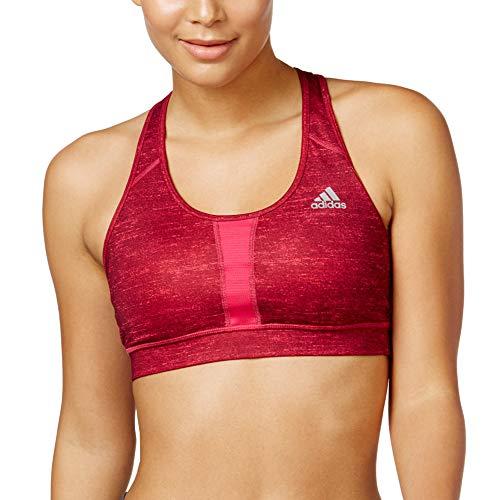 adidas Performance Women's Techfit Molded Sport Bra (X-Small, Bright Pink) ()