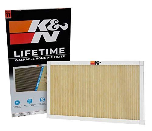 (K&N Home Reusable Air AC Furnace Filter, 18x30x1)
