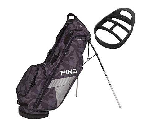 PING Hoofer Lite Stand Golf Bag (Black -
