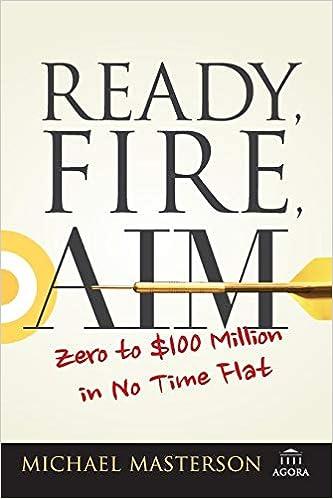 michael masterson ready fire aim ext