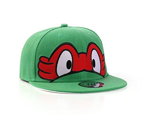 NEW Ninja Turtles Green Snapback Baseball Cap