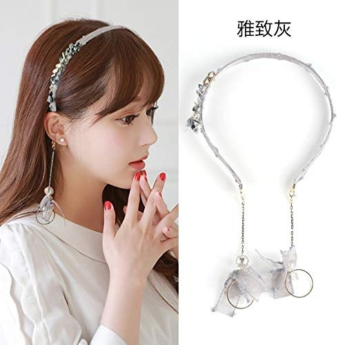 plush hair hoop earrings earings dangler eardrop tassel hair accessories ultra-ultra fire women girls fashion fairy headband bow hair stylish elegance issuing hair pin comb claw sub personalized fashi ()