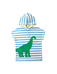 Koloyooya Baby Hooded Bath Towel Poncho Swim Pool Beach Wear Kid Bathrobe Cartoon Towel US