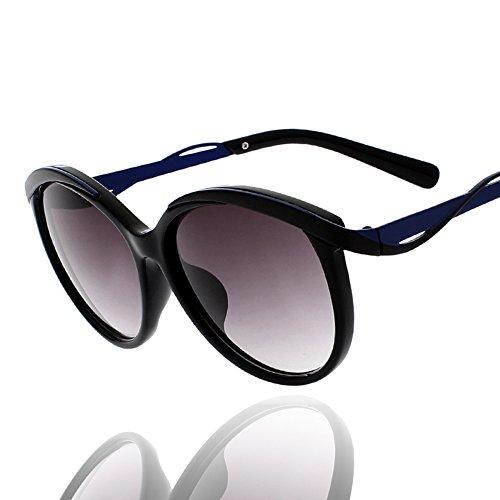 de de gran de de A Color de A ojos HD JIU Fashion sol Polarized espejo marco playa sol viaje Ms sus Gafas Gafas Proteja v71w4Sq