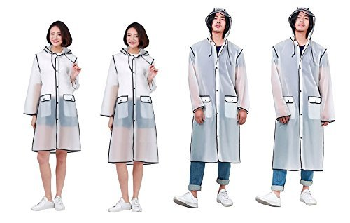 Girls Transparent Poncho Boys Clear Unisex Raincoat Women Coat and Hooded D Rainwear Long Outdoor Direct Men Foldable Rain for gSIfna4