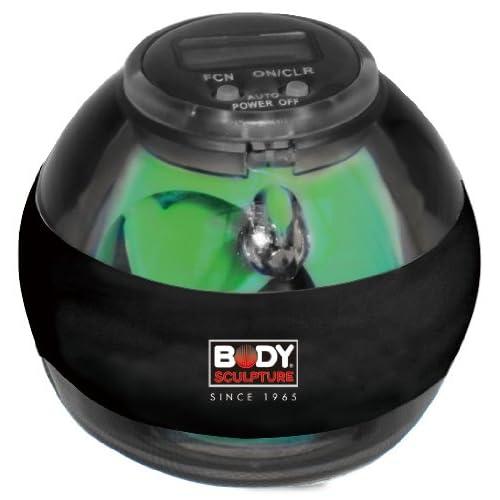 Body Sculpture BB9036 Balle d'exercice spin ball Noir