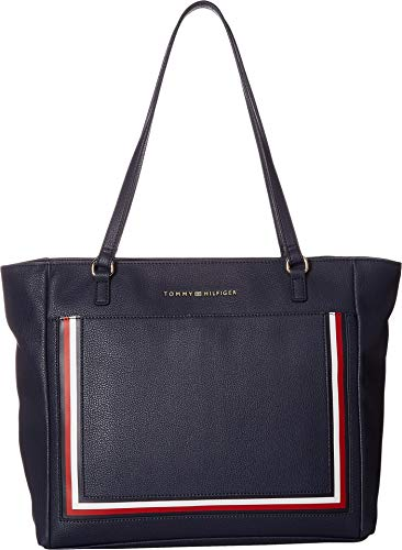 Tommy Hilfiger Women's Carmen Tote Tommy Navy One Size (Tommy Hilfiger Carteras Women)