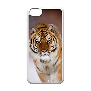 Prestige of the tiger CHA5034951 Phone Back Case Customized Art Print Design Hard Shell Protection Iphone 5C