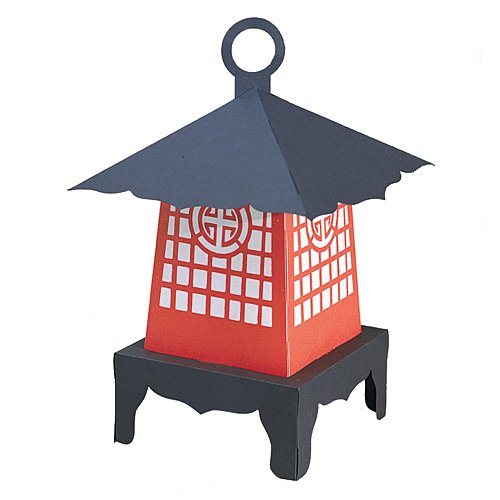 Shindigz Japanese Lantern Party Centerpiece Party Supplies Decorations]()