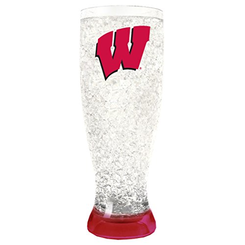 (NCAA Wisconsin Badgers 16oz Crystal Freezer Pilsner)