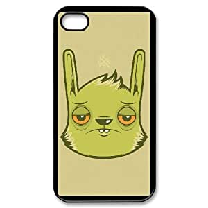 iPhone 4,4S Phone Case With Rabbit Pattern