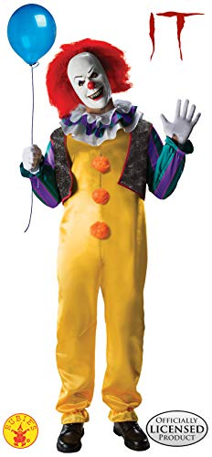 Rubie's IT The Movie Adult Pennywise Deluxe Costume, As Shown, X-Small