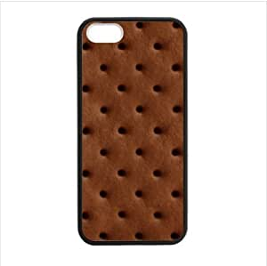 Case - Ice cream Sandwich Design Apple iphone 5 or 5s TPU (Laser Technology) Case, Cell Phone Cover