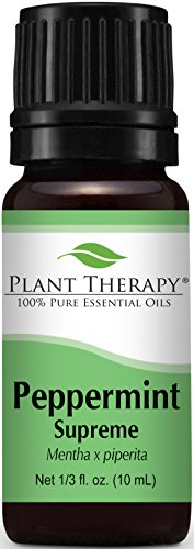 Plant Therapy Essential Oil Sampler Gift Set #4 in Wooden Box. Includes: Lavender, Eucalyptus, Cinnamon Cassia, Peppermint, Rosemary and Lemon. 10 mL (1/3 Ounce) each.