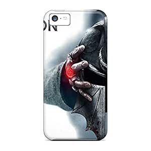 iphone 5c With Nice Appearance phone carrying case cover Forever Collectibles Heavy-duty dragon age 3 inquisition game