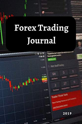 41UWaT1ijpL - Forex Trading Journal: FX Trade Log For Currency Market Trading (Candlestick Chart) (120 pages) (6 x 9 Large)