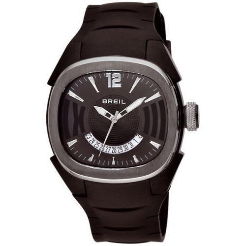 Breil Milano BW0313 - Reloj unisex de cuarzo, correa de caucho color negro