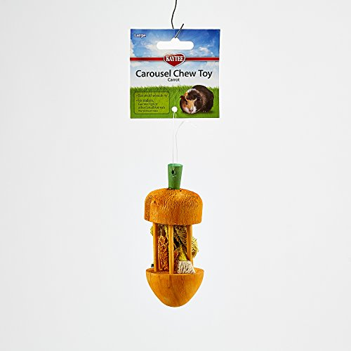 Kaytee-Carousel-Chew-Toy-Carrot-Large