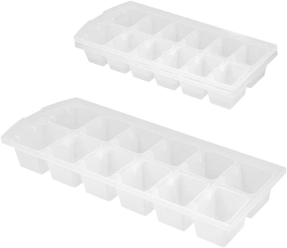 Kitchen Craft KCTWIST Bac 14 Gla/çons 9 x 12 x 16 cm Blanc Plastique