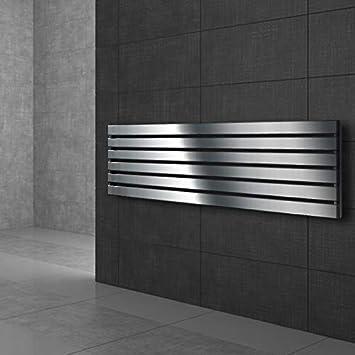 pas /électrique s/èche-serviettes ECD Germany Radiateur type panneau vertical pour salle de bain 310 x 1600 mm chauffage centralis/é blanc