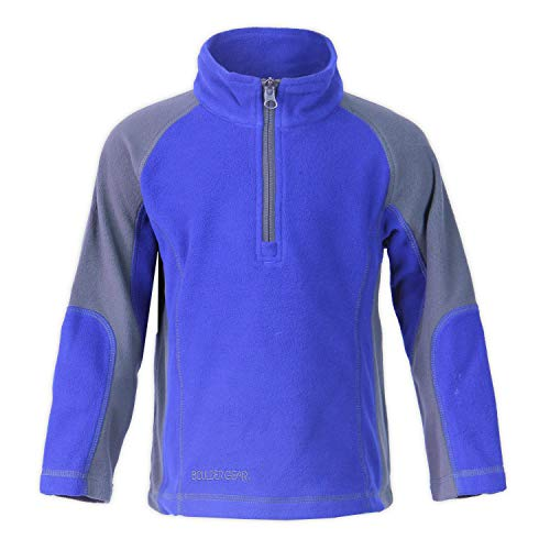 Micro Fleece Turtleneck (Boulder Gear Mason Micro Fleece 1/4-Zip Mid-Layer Little Boys)