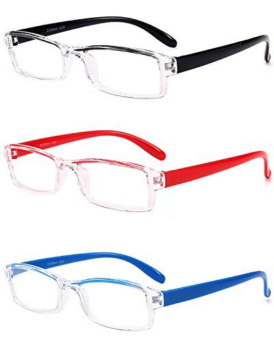 5 de Hombre Gafas 3 Lentes Al VEVESMUNDO 2 0 5 Vista Ligeras Transparentes 3 Leer Aros Aire de Sin 1 Presbicia 2 Montura 5 Set Gafas 0 Estrechas multicolor Graduadas 1 3 Mujer 0 Lectura 4 0 wTqFqt