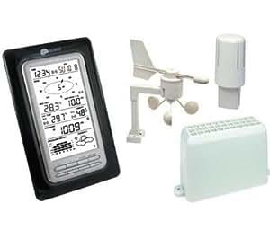 LA CROSSE TECHNOLOGY Estación meteorológica WS1501 -Negra