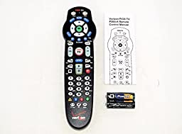 Original Verizon FiOS Remote Control + Free Batteries + Manual [New Sealed and Latest 2-Device Version Ver 4 RC2655007/01] by Verizon