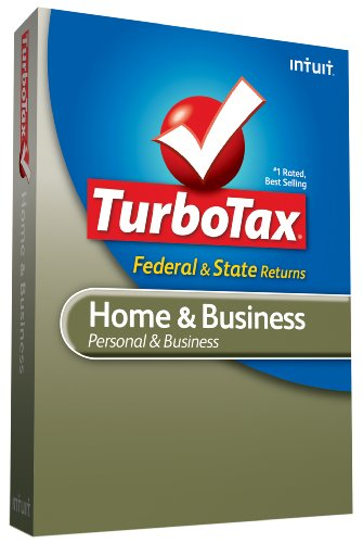 Price comparison product image TurboTax Home & Business Federal + State + Federal efile 2009