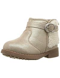 OshKosh B'Gosh Girls' Iclyn Chelsea Boot, Grey, 7 M US Toddler