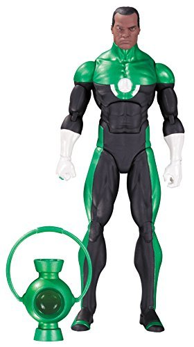 DC Collectibles Comics Icons: Green Lantern John Stewart: Mosaic Action Figure by DC Collectibles