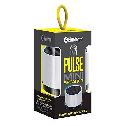 Mental Beats Bluetooth Wireless Pulse Mini Speaker - Silver (Speaker Portable Mini Beats)