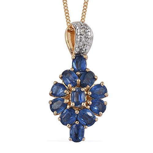 (Kyanite Pendant Necklace for Women Jewelry Gift 20
