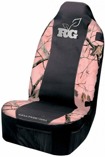 pink and camo car seat covers - 7