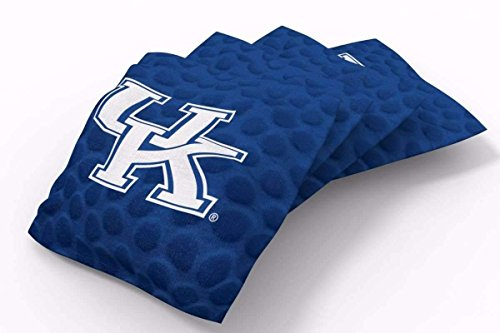 Kentucky Wildcats Bean Bag - PROLINE 6x6 NCAA College Kentucky Wildcats Cornhole Bean Bags - Pigskin Design (A)