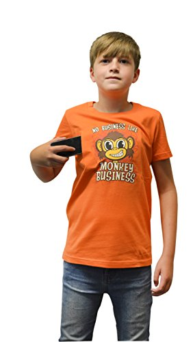 Morphsuits Moving Eyes Monkey Business T-Shirt, Small (Age 6 - 7), One Color -