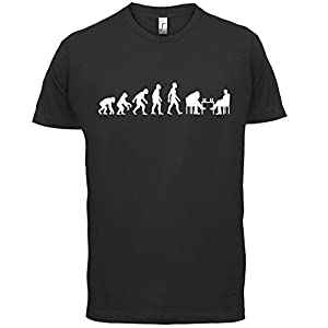 Dressdown Men's Evolution of Man Chess T-Shirt - 10 Colours